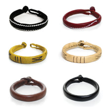 Load image into Gallery viewer, Unisex Leather Bracelets