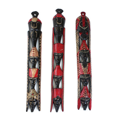 Hand-Carved Maasai Totem Mask (Pre-Order)