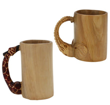 Load image into Gallery viewer, Kenyan Mahogany Pencil Cup