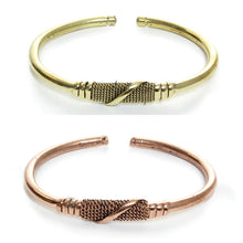 Load image into Gallery viewer, Kenyan Metal Twist Bracelets