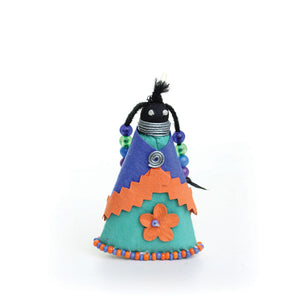 African Paper Doll Ornament