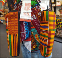 Load image into Gallery viewer, African Print Backpack - Medium