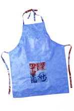Load image into Gallery viewer, Reversible Adinkra Symbol & Bazin Apron