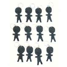 Load image into Gallery viewer, Asante Fertility Doll Keychain