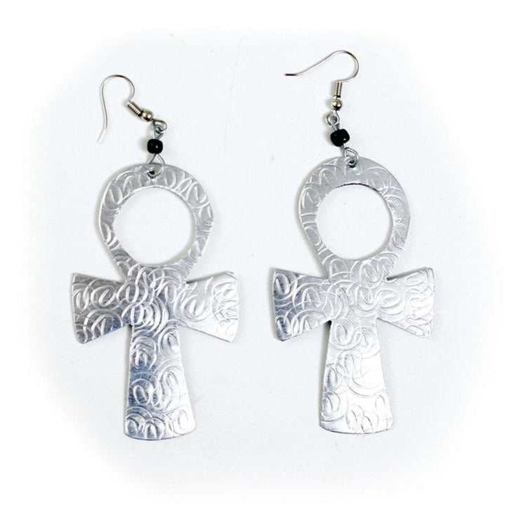 'Symbol of Life' Ankh Earrings