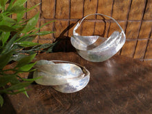 Load image into Gallery viewer, Fulani Silver Twist Earrings