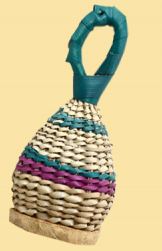 Straw Wicker Rattles