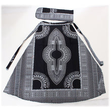 Load image into Gallery viewer, Dashiki Print Wrap Skirt (Pre-Order)