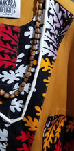Load image into Gallery viewer, Nigerian 'Stained Wood' Glass Bead Necklace