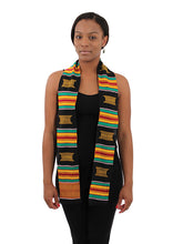 Load image into Gallery viewer, Woven Ashanti Kente Stole (Pre-Order)