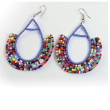 Load image into Gallery viewer, Beaded Zulu Earrings