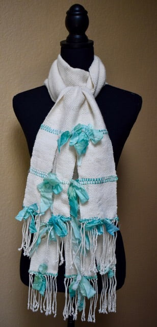 Silk Bow Scarf