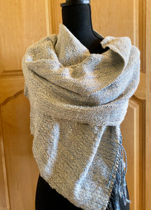 Alpaca and Silk wrap