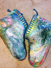 Load image into Gallery viewer, Felted Wool Slipper Tutorial