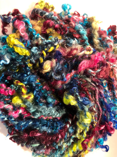 Rainbow 🌈 mohair yarn