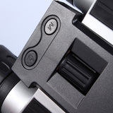 eyeseeall 12x32 digital camera binoculars knob and buttons closeup