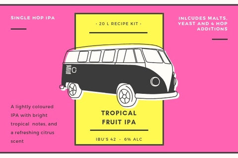 Tropical fruit IPA