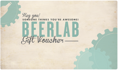 BeerLab Gift Voucher - ONLINE USE ONLY
