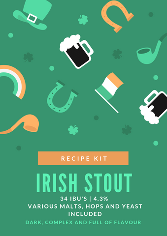 Irish Stout (Partial mash)