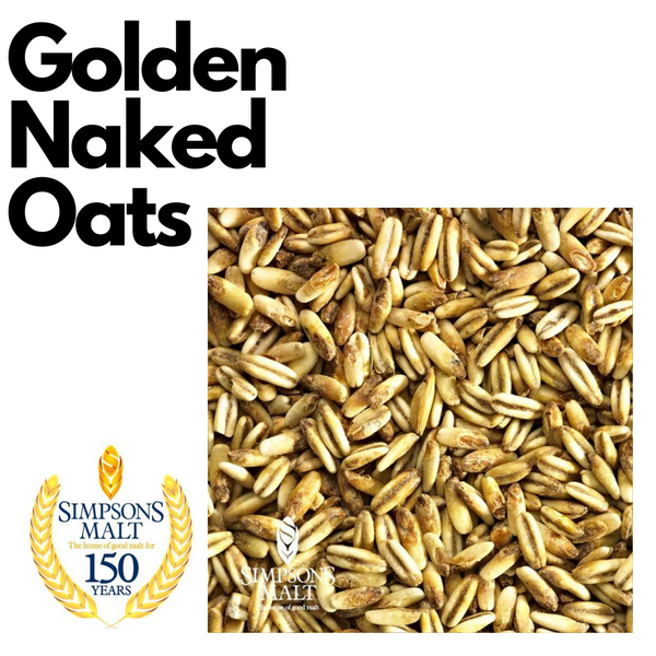 Golden Naked Oats