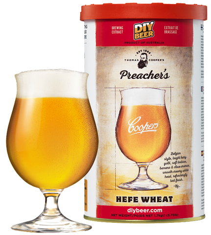 Coopers Preacher's Hefe Wheat (1.7kg)