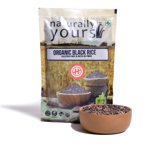 Naturally Yours Black Rice - 500gm