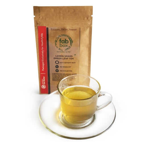 Lemon Grass Green Leaf Tea (25 tea cups) - 25 gm