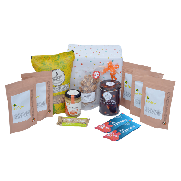 Thyroid Friendly Hamper Big with Gift Wrap