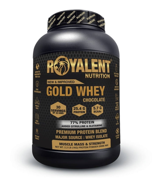 Gold Whey-Chocolate, 1kg + FREE SHAKER