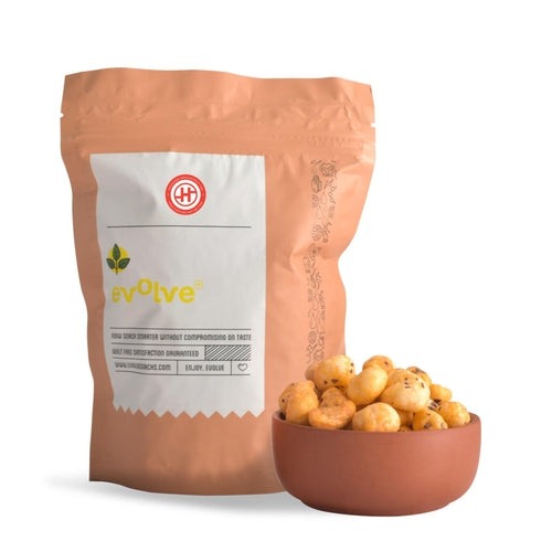 Cheese Foxnuts, Pack of 2(70gm each)