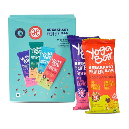 Breakfast Protein Bar, Pack of 6 - 300 gm