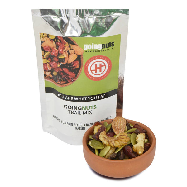 Going Nuts Trail Mix, Pack of 2 (30gm each) - 60 gm