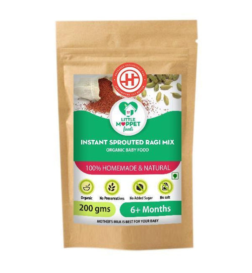 Instant Sprouted Ragi Mix (6 Months+)