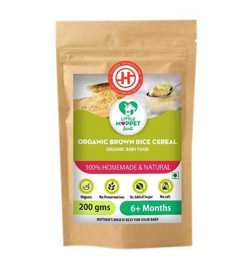 Organic Brown Rice Cereal (6 Months+)
