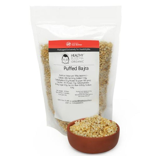 Puffed bajra, Pack of 2 ( 150gm each )