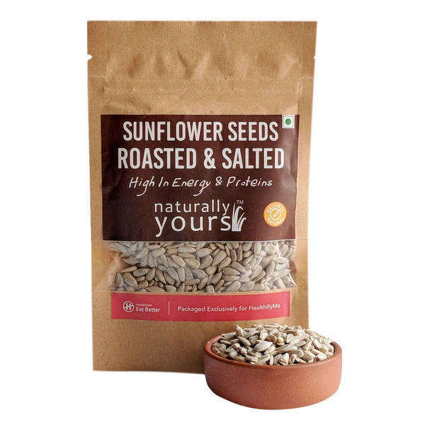 Sunflower Seeds Roasted & Salted, Pack of 2 (50 gm each)