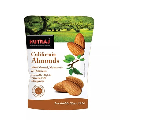 Nutraj California Almonds, 250g
