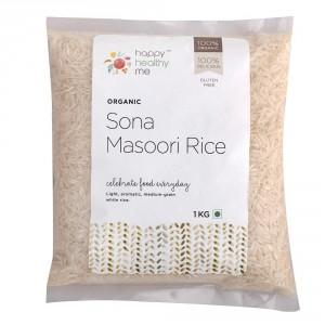 Organic Unpolished Rice (Sona Masoori) - 1000gm