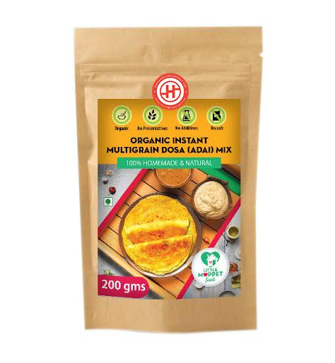 Organic Instant Multigrain Dosa Mix (12 Months+)