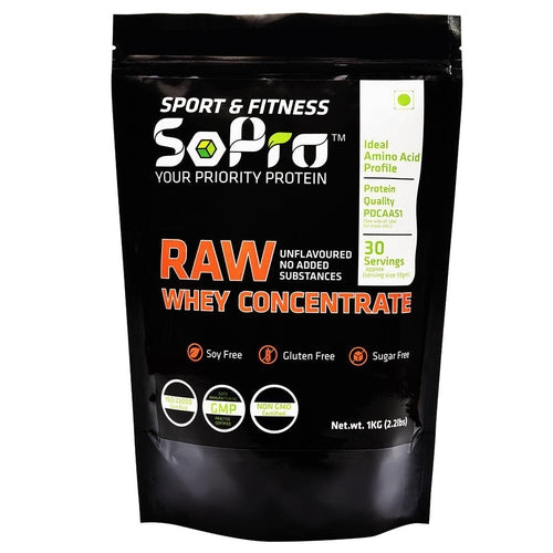 Raw Whey Concentrate 1000 Gram