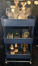 Load image into Gallery viewer, Bar Cart Custom Royal Blue