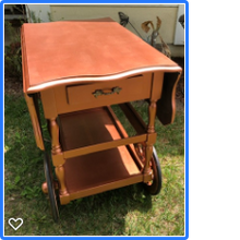 Load image into Gallery viewer, Vintage Tea Cart