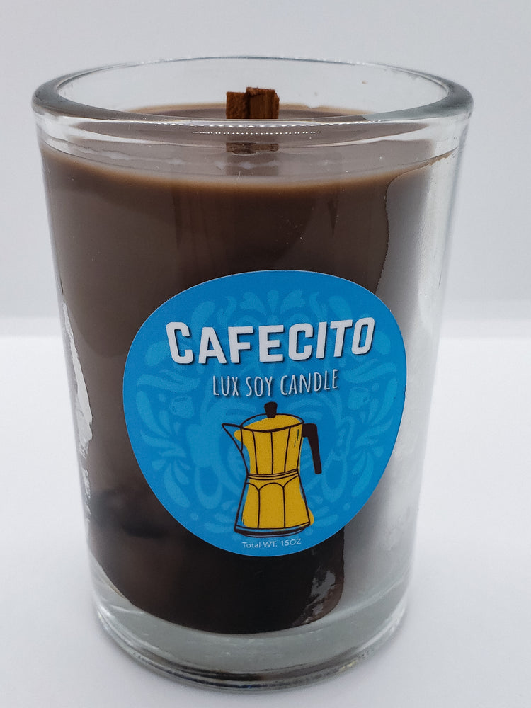 Cafecito Lux Soy Candle