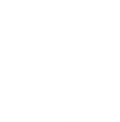 Outline Heart Clover