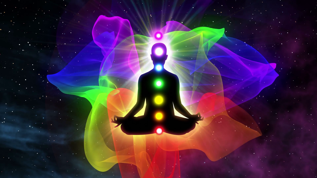 Chakras are centers of energy, located on the midline of the body.