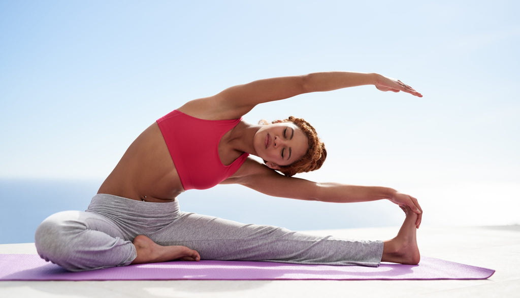 Yoga practice increases your body's flexibility and strength