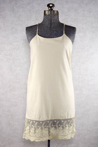 Plus Size Cream Lace Dress Extender