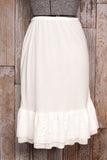Plus Size Ivory Half Slip Dress Extender