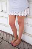 White Lace Dress Extender