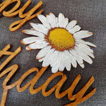 Birthday Daisy Cake Topper